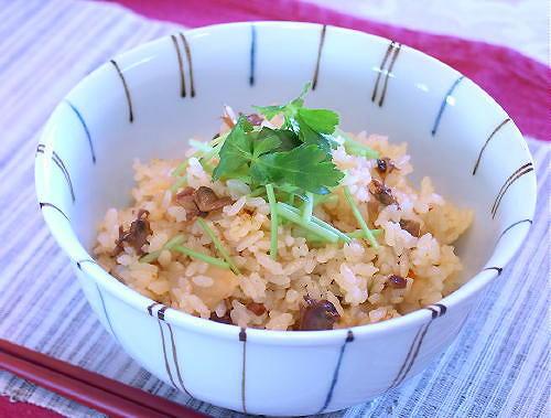 あさりとキムチの炊き込みご飯レシピ