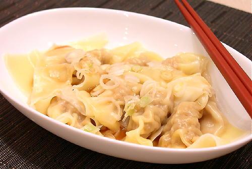 キムチワンタンレシピ