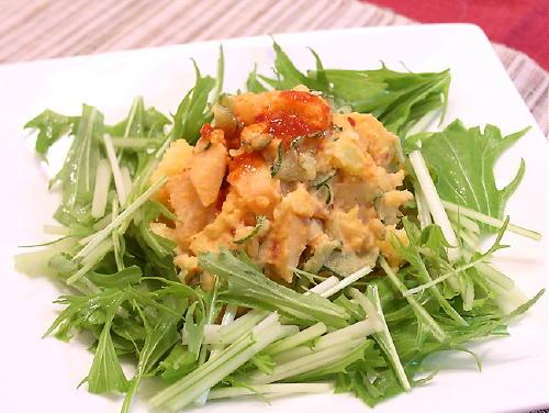 大根キムチ入りポテトサラダレシピ