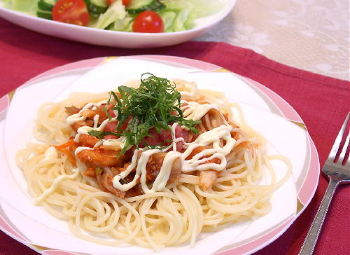 たらこキムチスパゲティレシピ