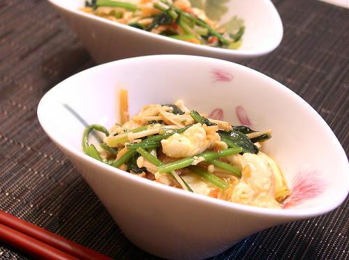 青菜と豆腐のキムチいため煮レシピ