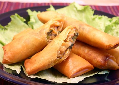 キムチ春巻きpart2レシピ