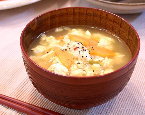 煎り豆腐のキムチ汁レシピ