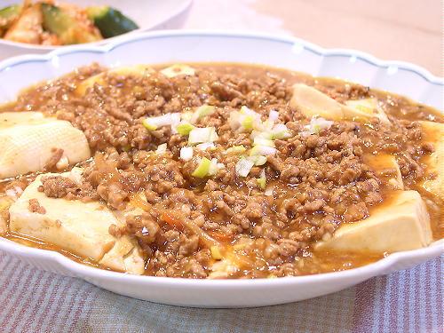 キムチの素de麻婆豆腐レシピ
