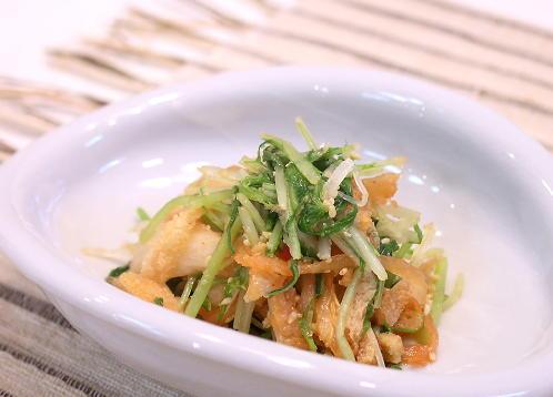 水菜のキムチ和えレシピ