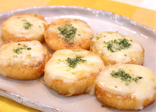 長いものチーズ照り焼きレシピ