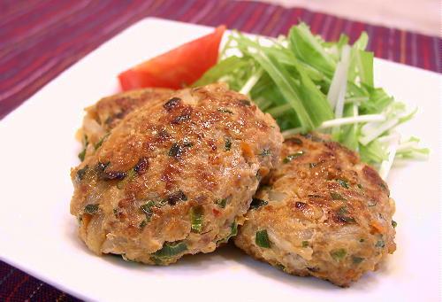 キムチ入り肉団子レシピ