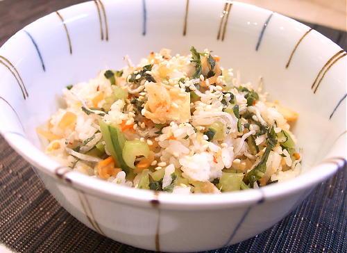 野沢菜ご飯レシピ