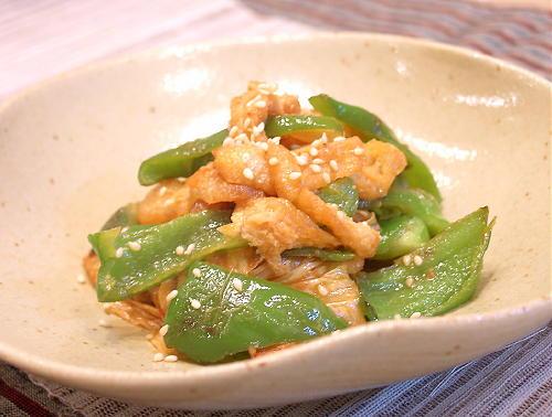 ピーマンとキムチのごま味噌炒めレシピ