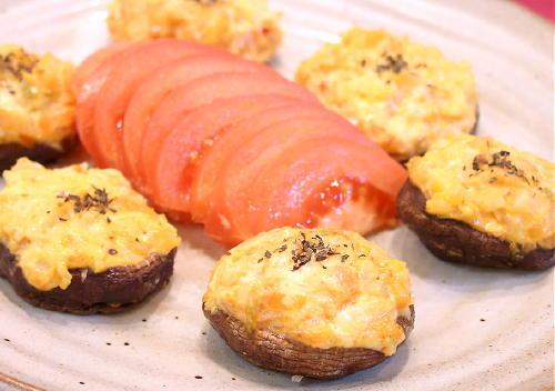 しいたけのキムチマヨネーズ焼きレシピ