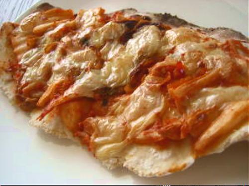 キムチピザレシピ