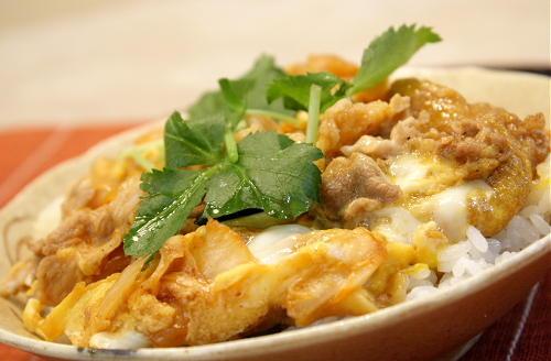 キムチの卵とじ丼レシピ