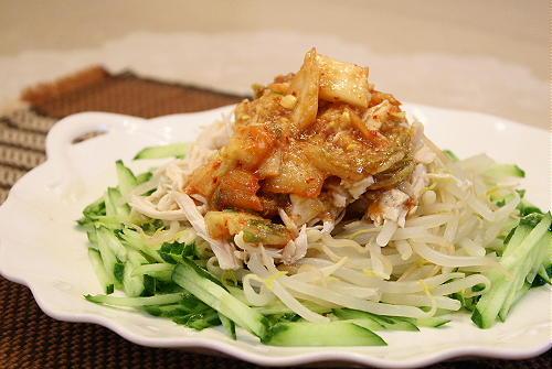 キムチバンバンジーサラダレシピ