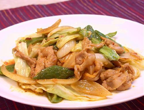 味噌豚キムチレシピ