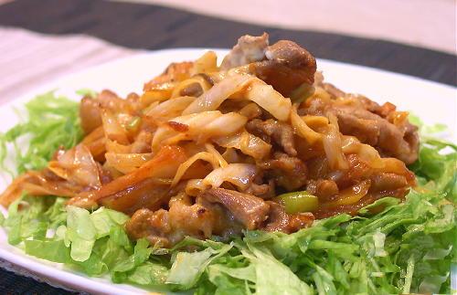 豚肉とキムチのマヨネーズ炒めレシピ