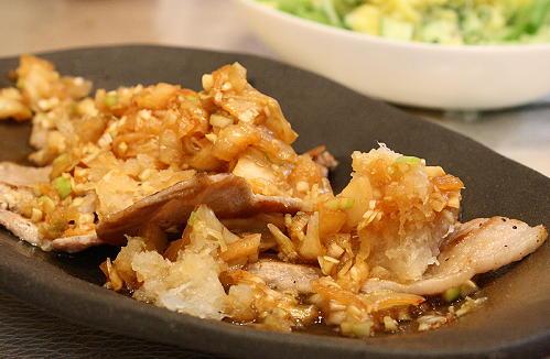 豚肉のおろしキムチネギソースレシピ
