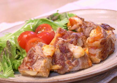 特選カクテキとチーズの豚肉巻きレシピ