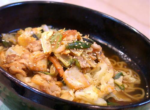 豚キムチラーメンレシピ