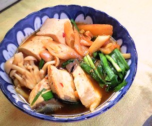 ぶりキムチ鍋レシピ
