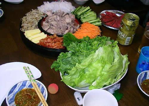 豚バラ焼肉特製ダレ巻きレシピ