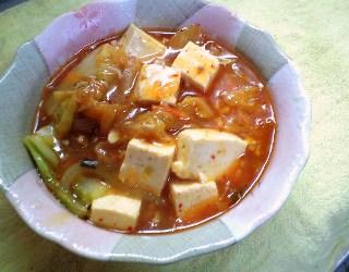 豆腐と白菜キムチのとろみ煮レシピ