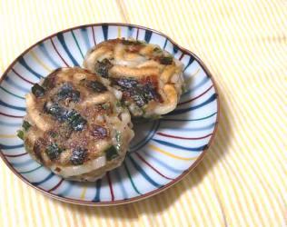 今日のキムチ料理レシピ:うどんでキムチ餃子