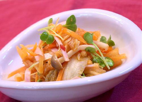 にんじんとキムチのサラダレシピ