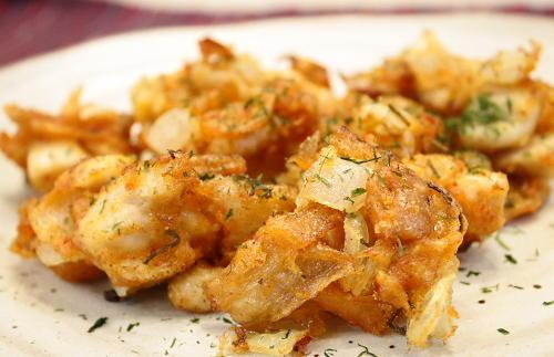鶏肉とキムチのかき揚げレシピ