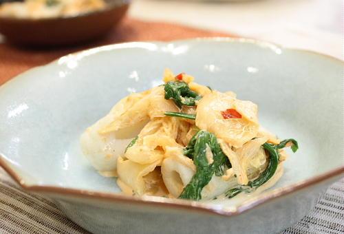 ちくわとキムチのマヨポン酢和えレシピ