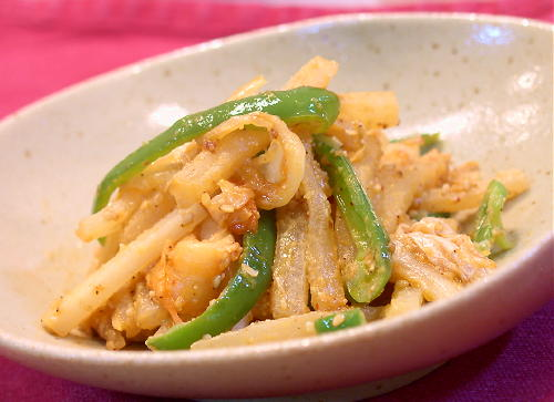 大根とキムチの胡麻炒めレシピ