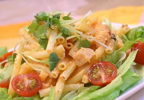 大根キムチとマカロニのサラダレシピ