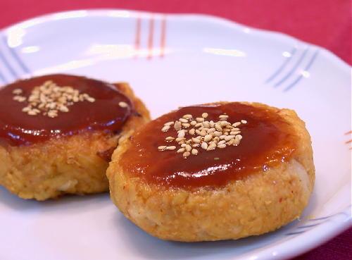 大豆キムチハンバーグレシピ