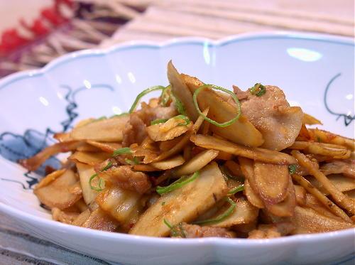 ごぼう豚キムチレシピ