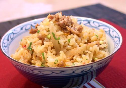 ごぼうとキムチの炊き込みごはんレシピ