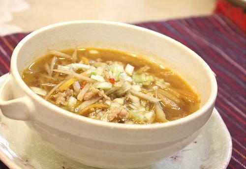 ごぼうと豚肉のキムチスープレシピ