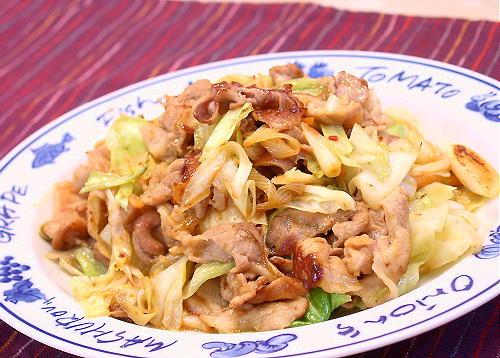 豚肉とキムチのオイスターソース炒めレシピ