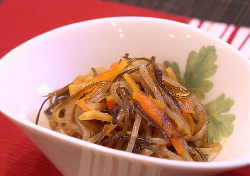 糸こんにゃくと昆布のピリ辛煮レシピ