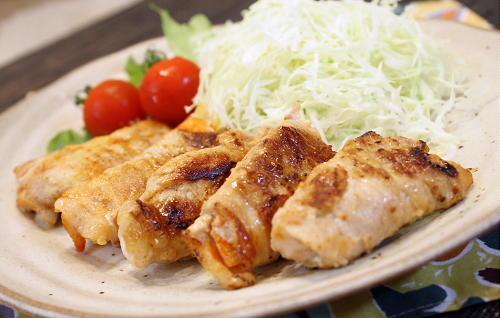 特選カクテキの豚肉巻きレシピ