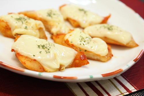 特選カクテキのチーズ焼きレシピ