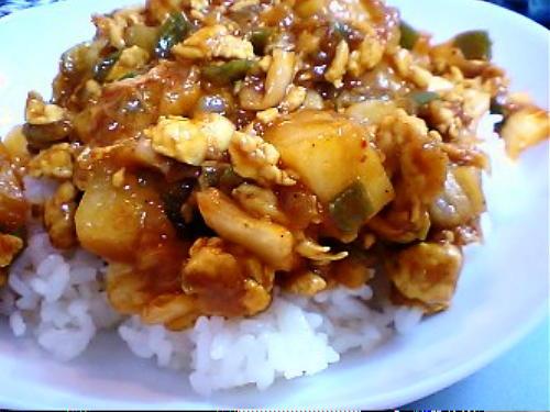 キムチのキーマカレーレシピ
