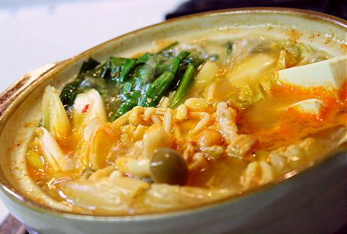 キムチ鍋レシピ