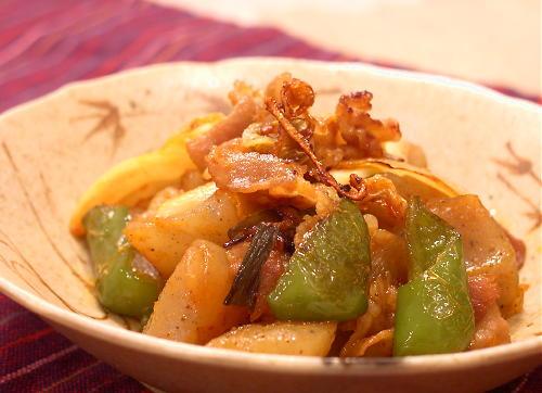 豚肉とこんにゃくのキムチ炒めレシピ