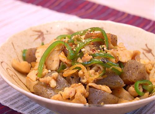 こんにゃくと鶏肉のキムチ煮レシピ