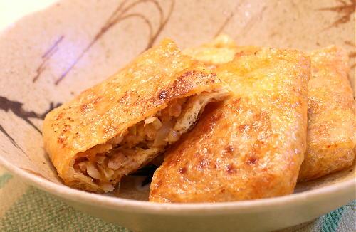 ピリ辛味噌ひき肉の包み焼きレシピ