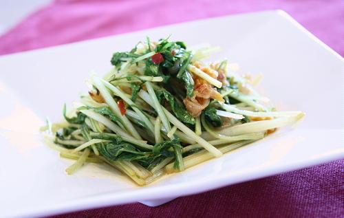 今日のキムチ料理レシピ:水菜キムチ