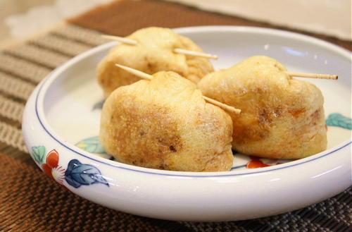 お餅と<br /> 割干しキムチとチーズの包み焼きレシピ