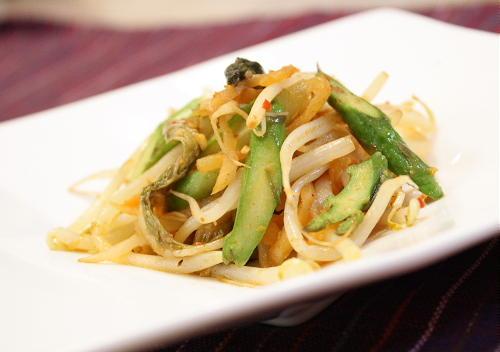 モヤシキムチ炒めレシピ