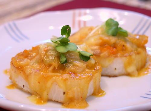 長いもの味噌キムチチーズ焼きレシピ