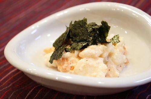 今日のキムチ料理レシピ:長いもとキムチのマヨネーズ和え