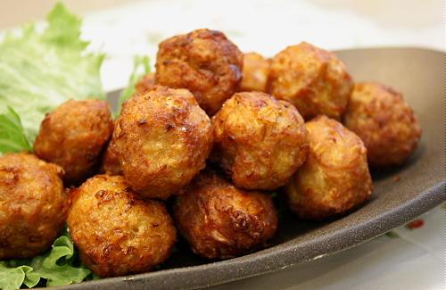 キムチ肉団子レシピ